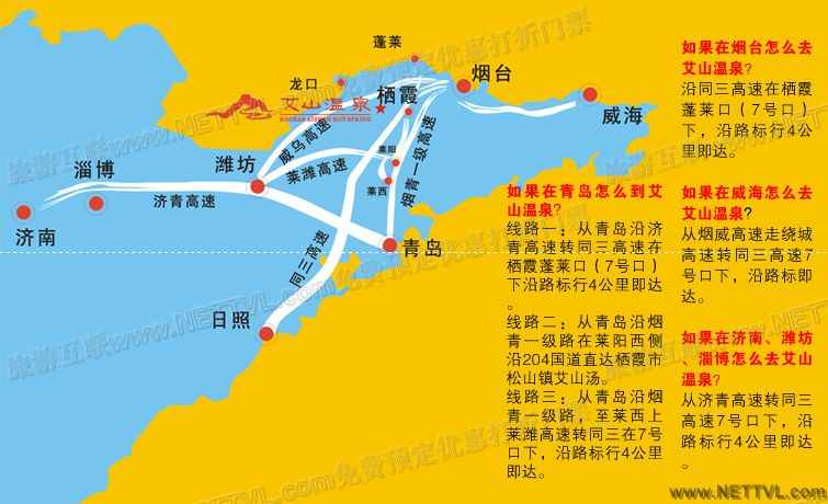 中国特产手绘地图