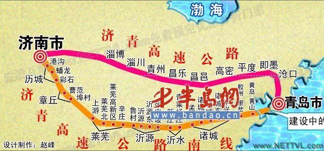 首页 旅游地图 景点交通图 山东旅游地图 济青高速南线地图