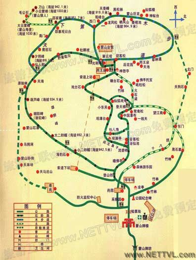山东旅游景点地图