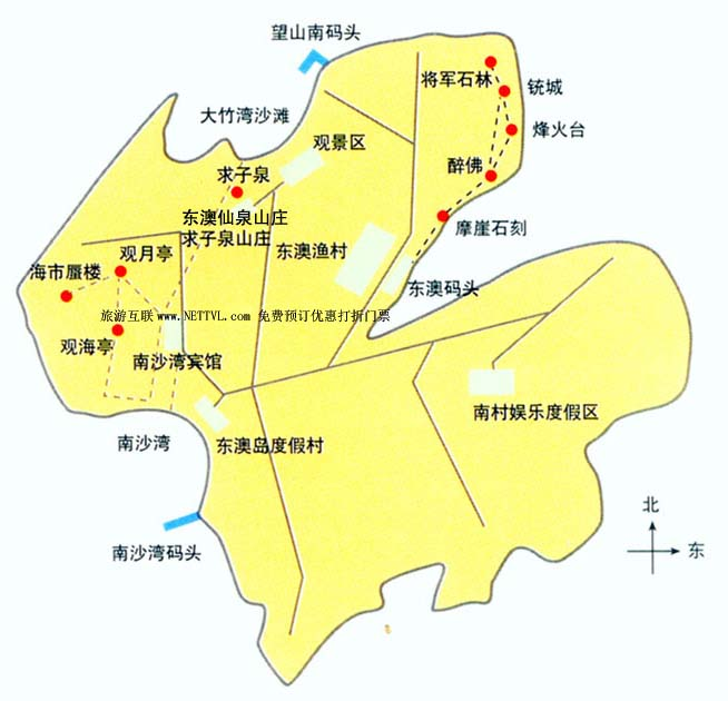 东澳岛地图