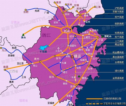 上海手绘游玩地图