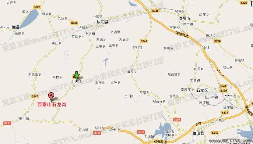 石龙沟地图图片
