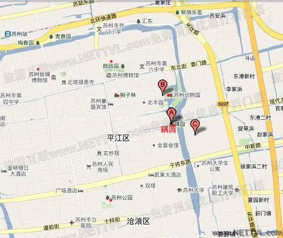 首页 旅游地图 景点交通图 江苏旅游地图 苏州动物园地图