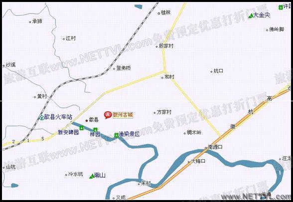 黄山徽州古城介绍:         歙县古称徽州,位于皖南新安江上游的黄山