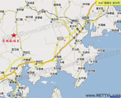 龙门漂流地图(安溪龙门漂流交通图
