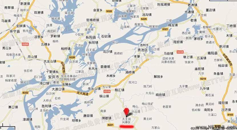 首页 旅游地图 景点交通图 安徽旅游地图 大王洞地图            大王