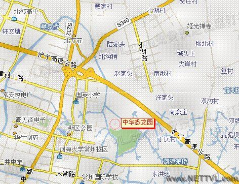 """2,飞机场到中华恐龙园: 32路公交车到""""红豆山庄""""站转302路可至中华"""