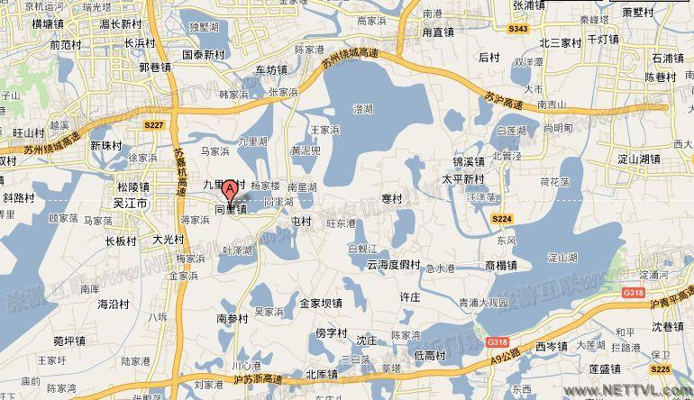 学生手绘广州八景地图