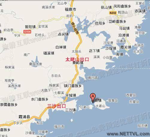 大嵛山岛地图