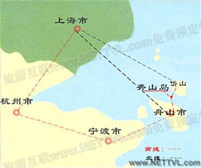 秀山岛地图