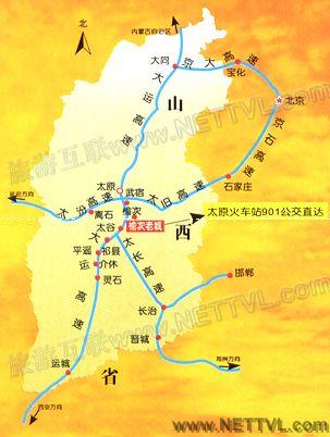 榆次老城地图(山西榆次老城交通地图
