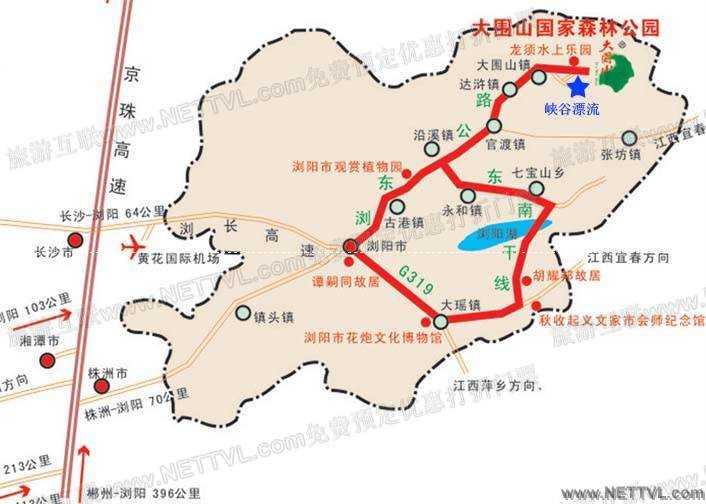 首页 旅游地图 景点交通图 湖南旅游地图 龙须峡谷漂流地图(龙须峡谷