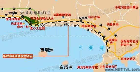 首页 旅游地图 景点交通图 海南旅游地图 落笔洞地图(三亚落笔洞交通