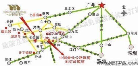 深圳到九江地图