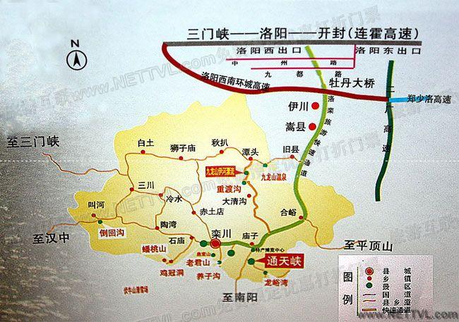 首页 旅游地图 景点交通图 河南旅游地图 通天峡地图(洛阳栾川通天峡