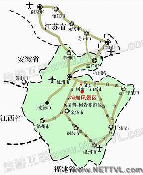 绍兴柯岩地图_绍兴柯岩景区交通地图【旅游互联】