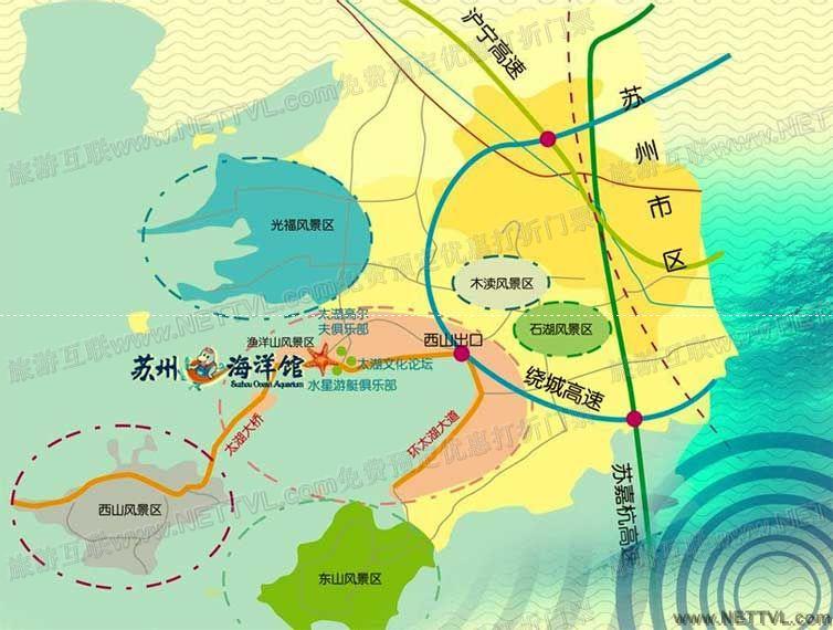 苏州海洋馆地图