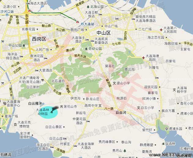 首页 旅游地图 景点交通图 辽宁旅游地图 大连森林动物园地图   大连