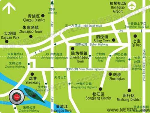 太阳岛度假村地图_上海太阳岛交通地图【旅游互联】