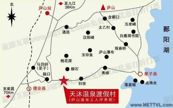 汉口风景区地图全图