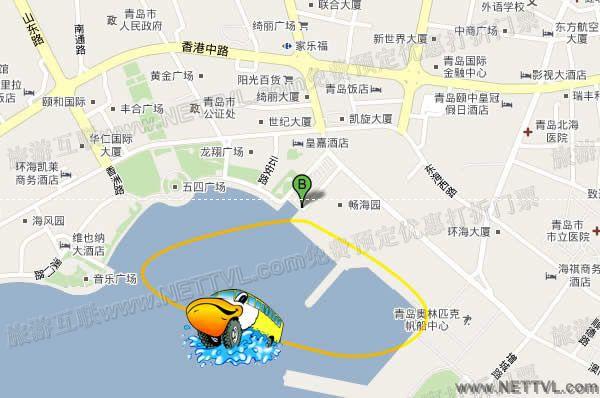 青岛冒险鸭地图