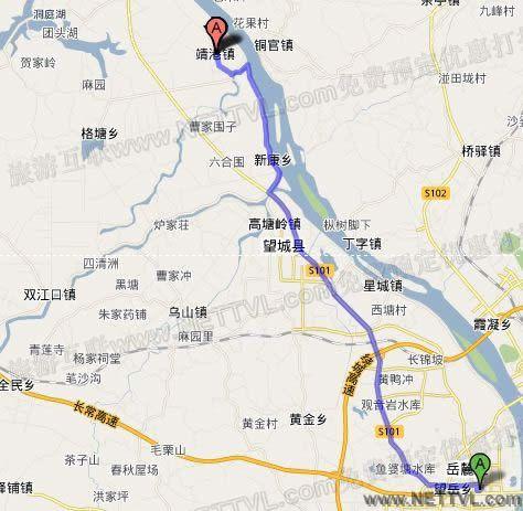靖港古镇地图_长沙靖港古镇交通地图【旅游互联】