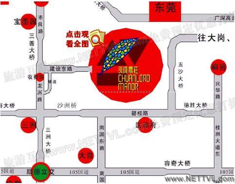 长鹿农庄地图(顺德长鹿农庄交通地图