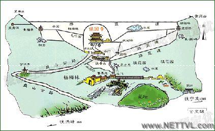 宁波保国寺导游地图(宁波保国寺旅游地图