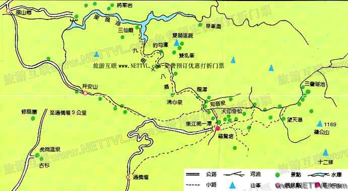 东江源三百山风景区门票价格