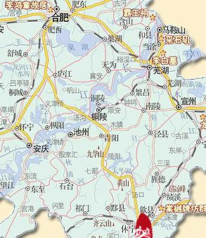 黄山醉温泉地图