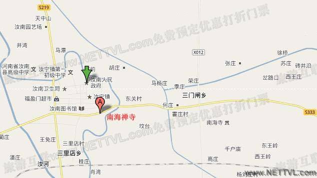 南海禅寺地图