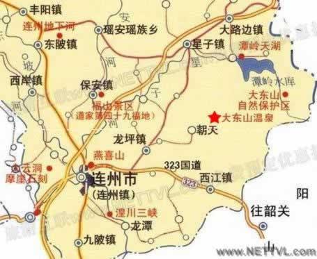 首页 旅游地图 景点交通图 广东旅游地图 大东山温泉地图   大东山