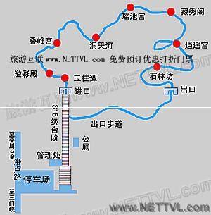 首页 旅游地图 景点导游图 河南旅游景点地图 鸡冠洞导游地图   栾川
