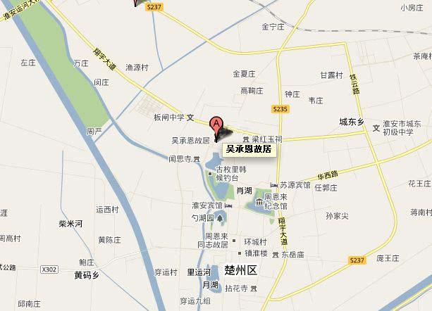 余姚市区地图查询