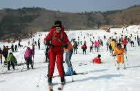 沂水地下画廊滑雪场