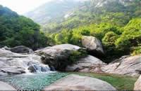 黄山东海大峡谷凤凰源景区