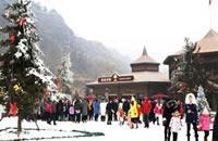 榮盛野三坡滑雪場