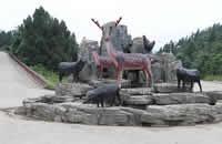 巴南羊鹿山