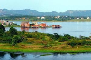 黃陂木蘭湖風景區