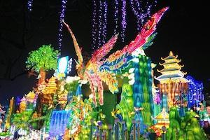自貢彩燈公園