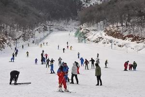 招远罗山必捷滑雪场