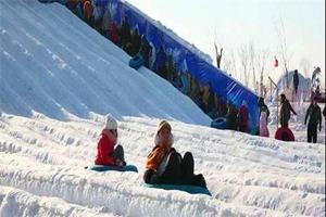 乌鲁木齐丝路花儿苑滑雪场