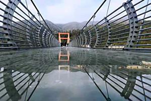 秋浦河詩河九天7D玻璃橋