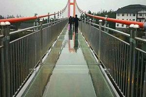 平昌駟馬水鄉玻璃橋