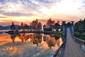 武汉东湖落雁景区