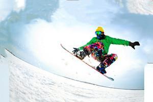 青岛雪乐山室内滑雪场(万达店)