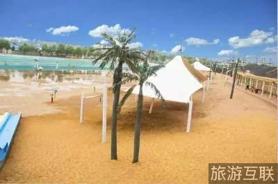 蓝天,白云,椰子树,沙滩……这就是在德州九龙湾!
