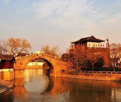 枫桥风景区图片