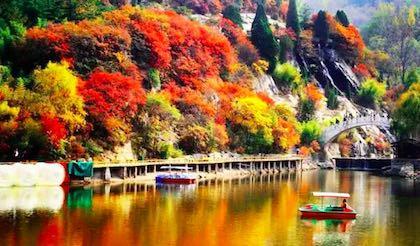 济南红叶谷风景区_旅游互联