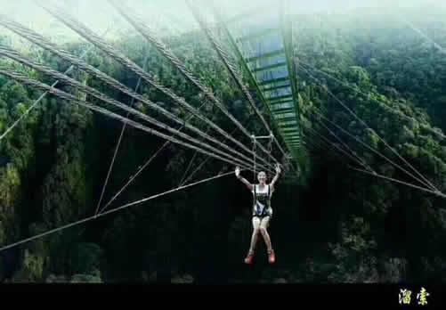 尤溪侠天下玻璃栈道新桥大揭秘:比玻璃天桥恐怖10000倍的双层极限玻璃